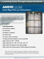 Used Pick Up Instructions Brochure