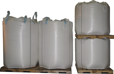 Picture of MegaBase Bulk Bags stacked